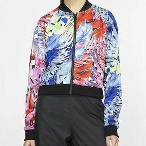 Nike Full Zip Floral Active Jacket AR2220-010